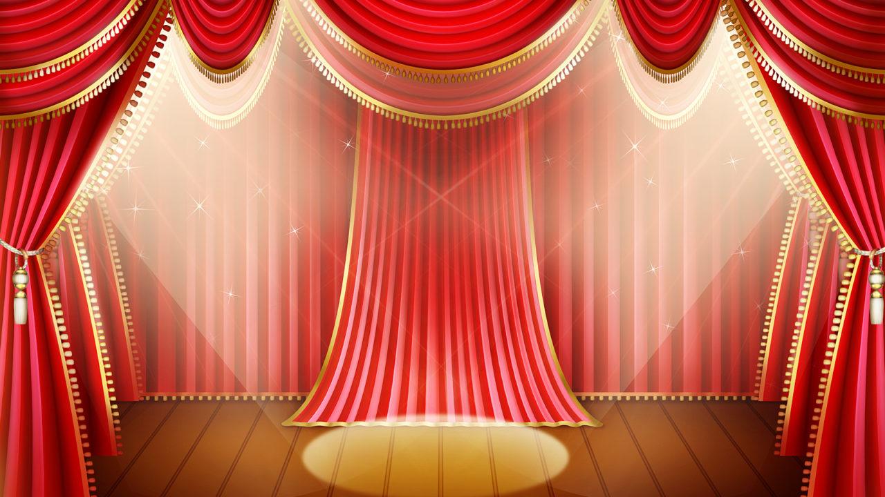 舞台のイラスト