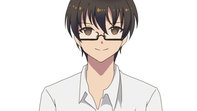 メガネをかけた堂本光一さんのイメージイラスト