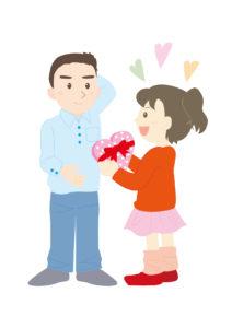 バレンタイン人物・男女