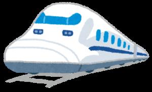 新幹線のイラスト「のぞみ」