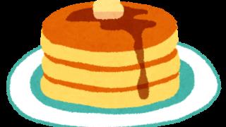 ホットケーキ・パンケーキのイラスト