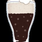 黒ビールのイラスト