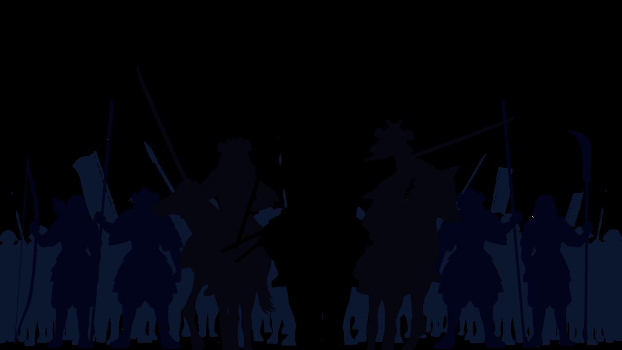 野武士のイラスト