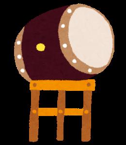 太鼓のイラスト
