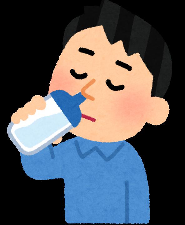 鼻うがいのイラスト(ボトル)