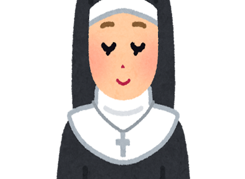 修道女のイラスト